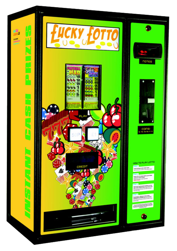 Flexitab Lottery Machine