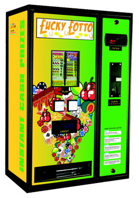 Pull Tab Lottery Machines
